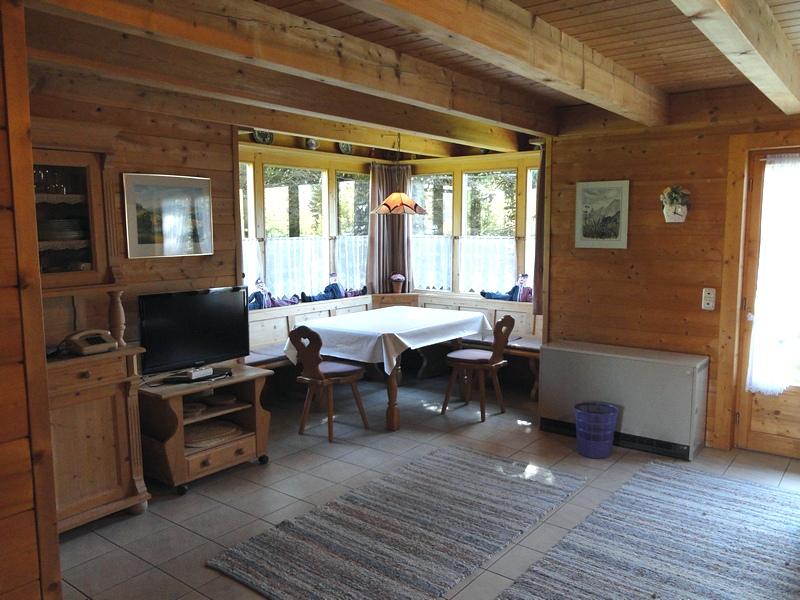 Wohnzimmer mit Erker: