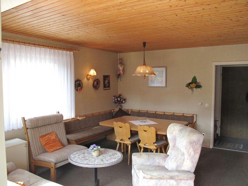 Wohn und Essbereich: