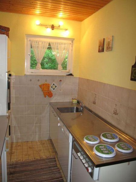 Küche:Standardausstattung mit Geschirrspüler