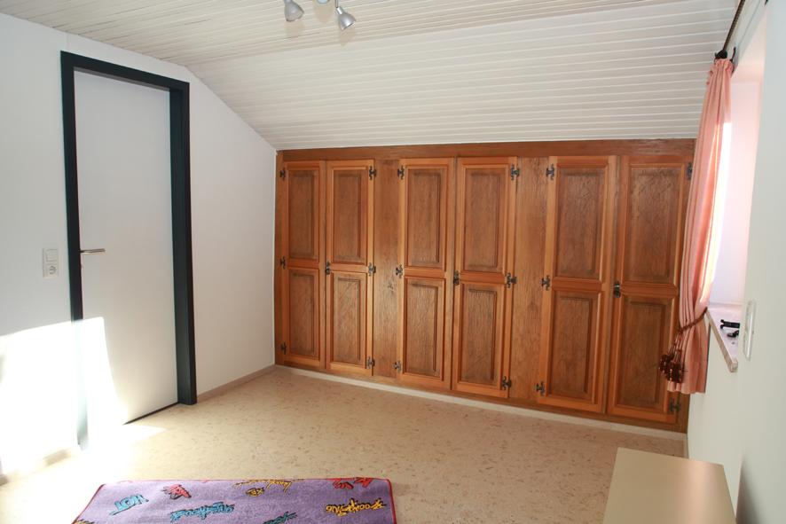 Spielzimmer Obergeschoss:Hier ist Platz zum Spielen.