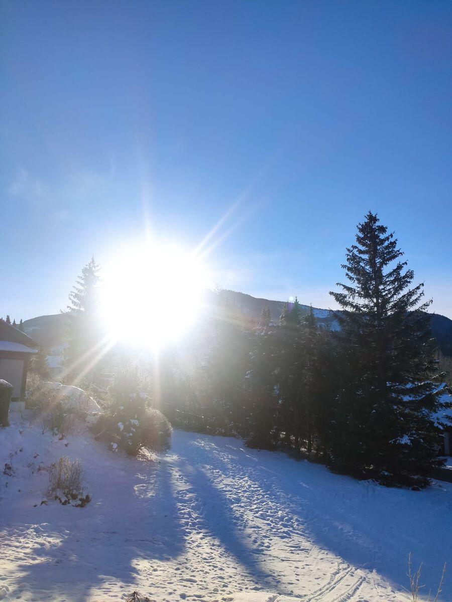 Terrasse:Im Winter