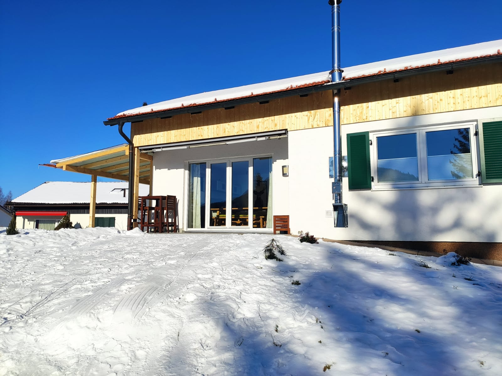 Terrassen :Winter