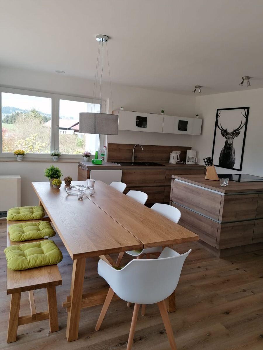 Küche mit Esstisch:Küche mit Esstisch
