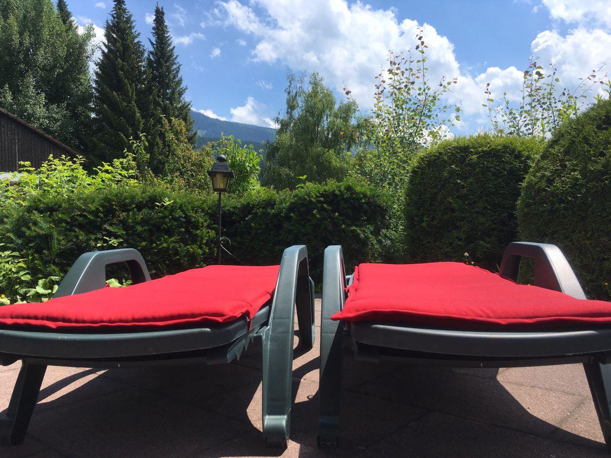 Terrasse:Luft und Sonne genießen