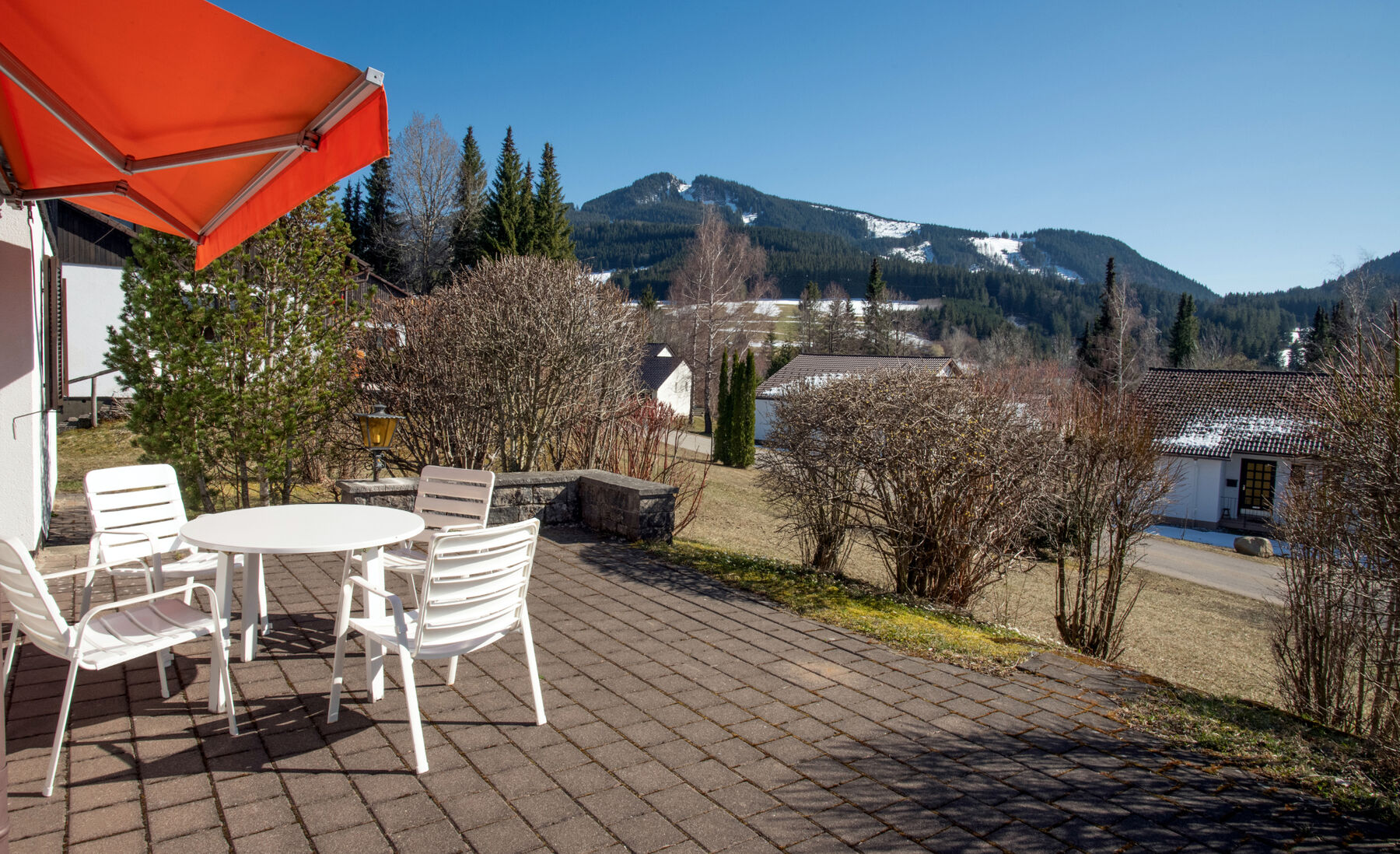 Blick auf Alpspitze:April 2021