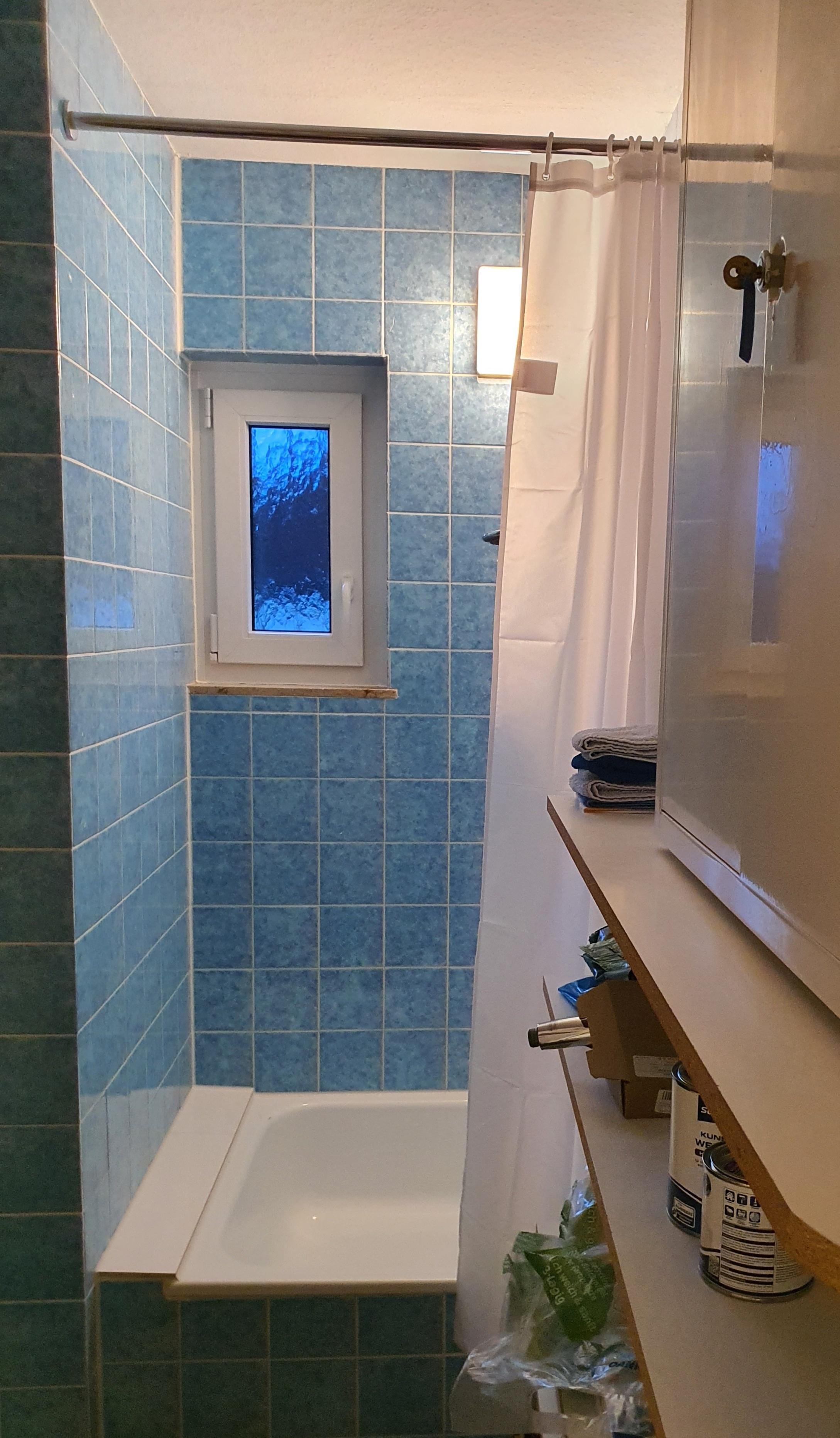 Zusätzliche Dusche: