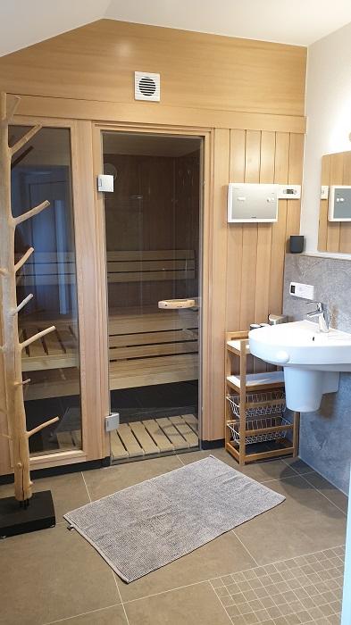 Saunabereich: