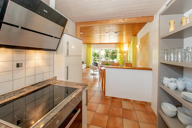 Blick von Küche :
