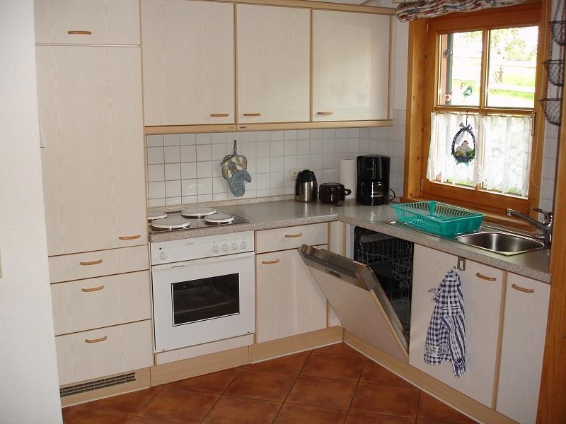 Küche:Kein Toaster,keine Mikrowelle