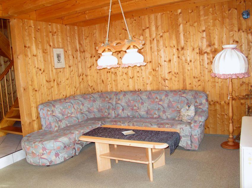 Wohngruppe:Das offene Wohn-/Esszimmer ist großzügig ausgestattet