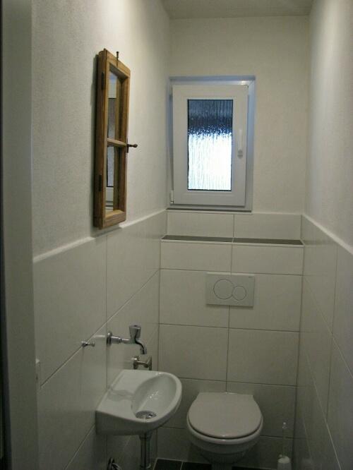 WC:neu renoviertes WC im EG