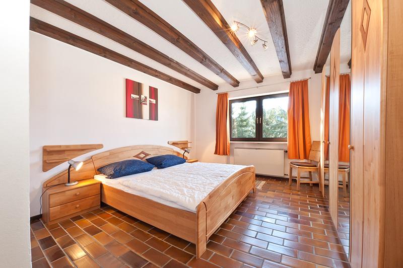 Schlafzimmer EG: