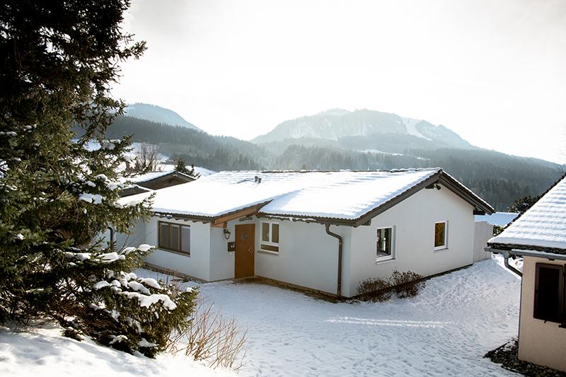 Haus von außen: