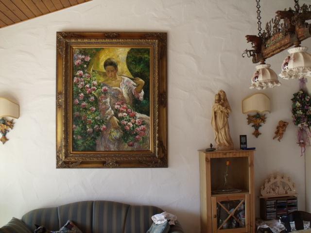 Wohnzimmer:Die Dame empfängt Sie gerne