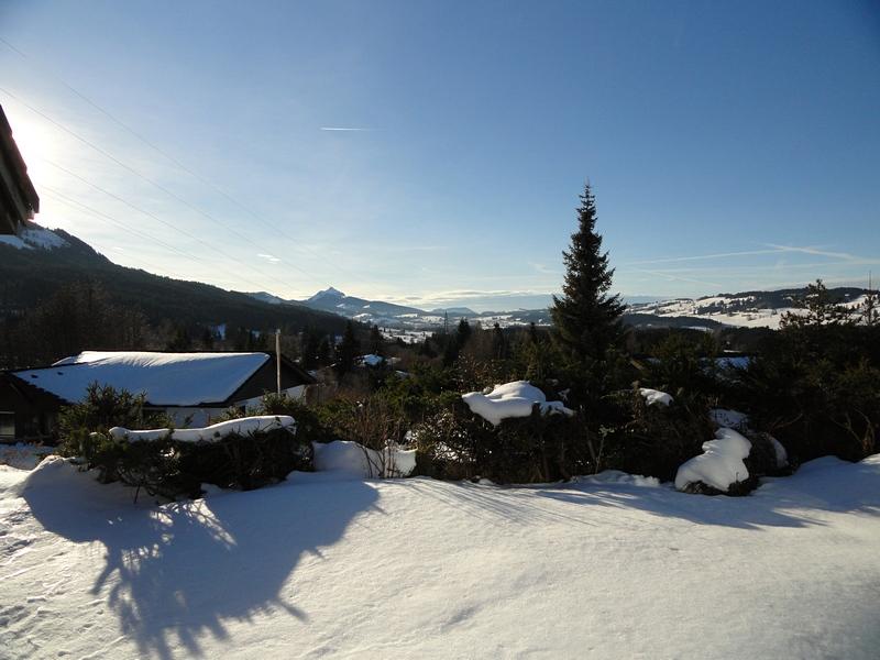 Blick von der Terrasse: