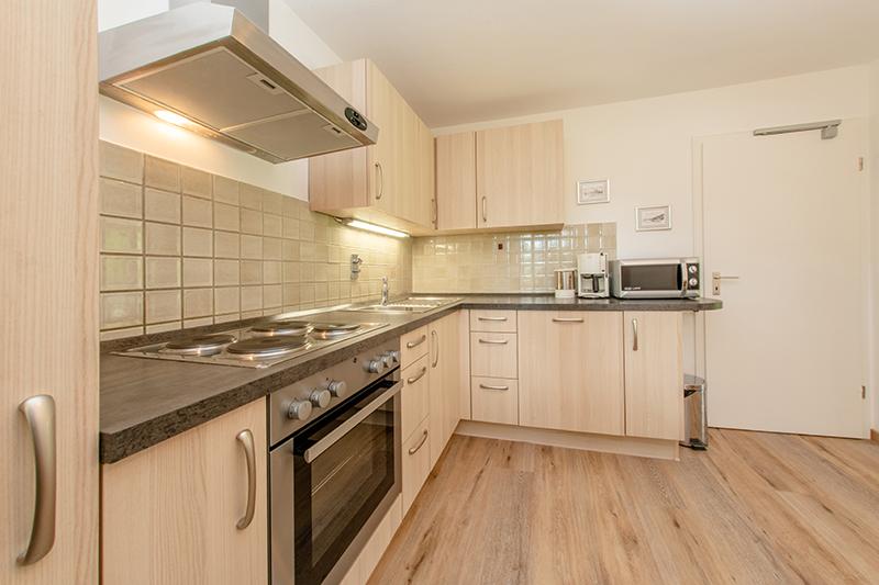 Küche:Viel Platz zum Kochen