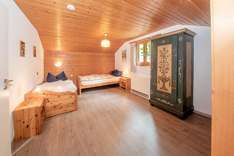 Zimmer im Dach: