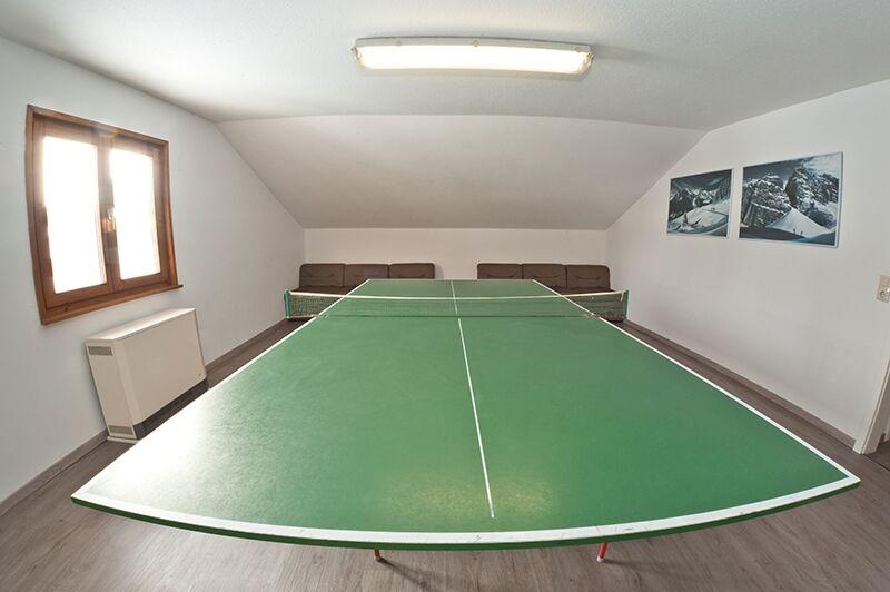 Tischtennisraum: