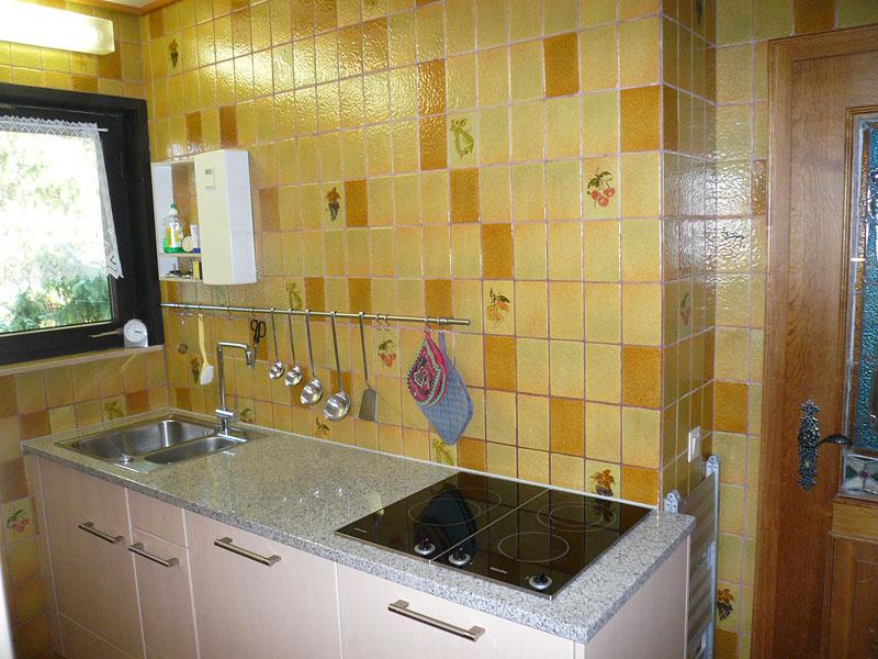 komfortable Küche: