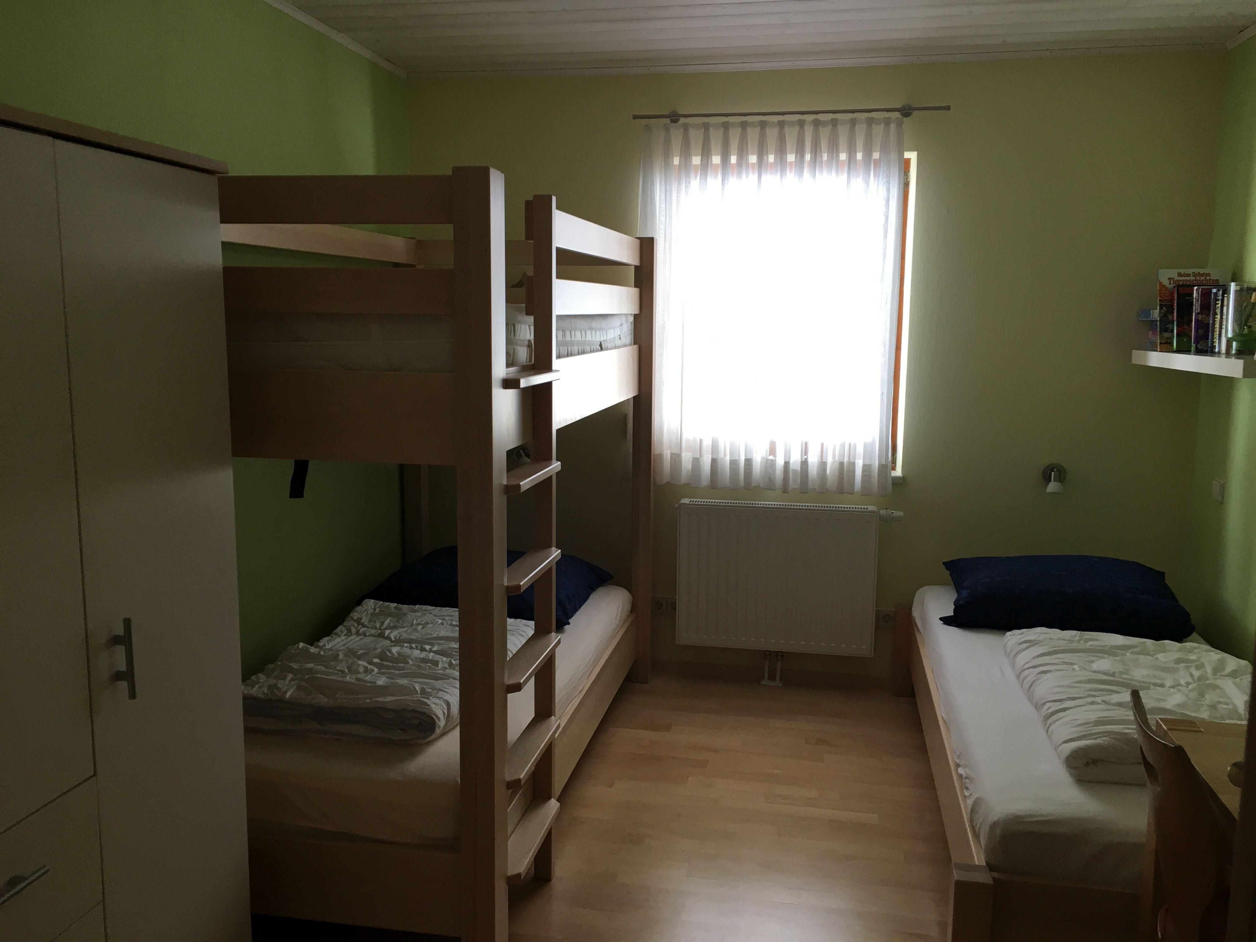Schlafzimmer 3:Zur Auswahl stehen 3 Betten...