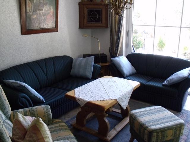 Wohnzimmer:gemütliche Couchgarnitur
