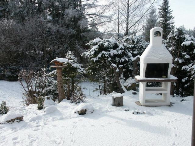 Grillkamin:Grillkamin für die Party / auch im Winter