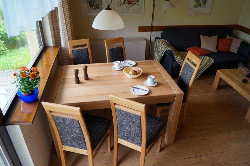 Essgruppe:Die Essgruppe bietet Platz für bis zu 6 Personen