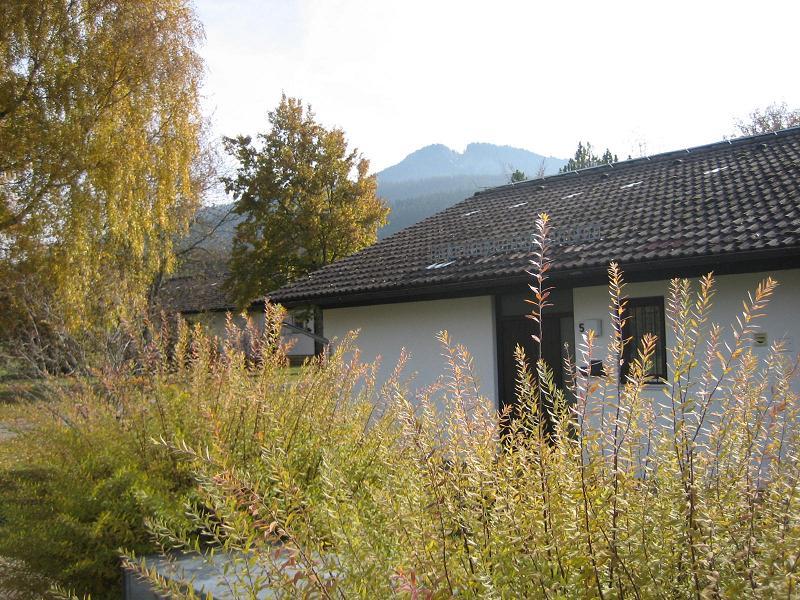 Hauseingang:Hauseingang mit Blick auf die Alpspitze