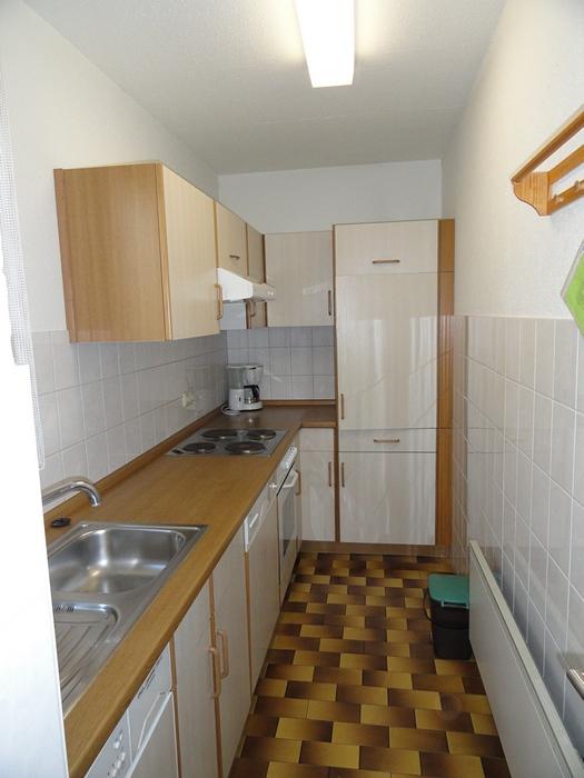 Küche:Mit Waschmaschine und Spülmaschine gut ausgestattet