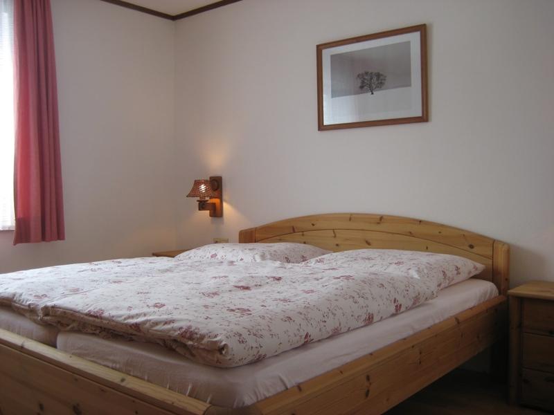 Schlafzimmer 1:Mit herrlichem freien Blick Richtung Oy, Mittelberg