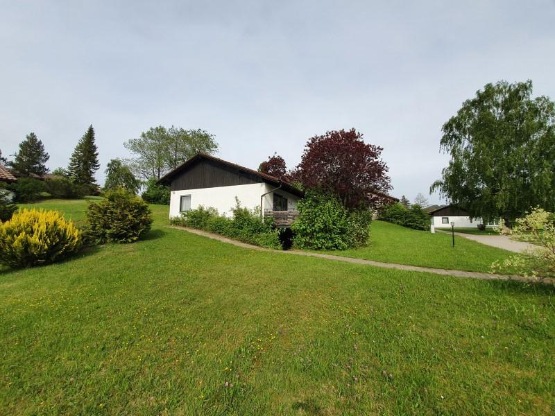 Blick zum Haus: