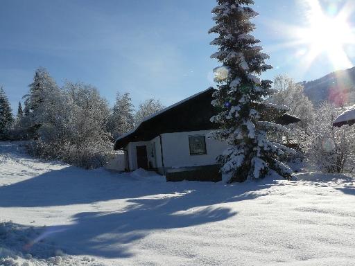 Ferienhaus :Herrlichstes Winterwetter!