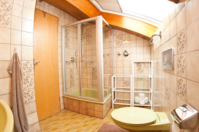 Bad mit Dusche :